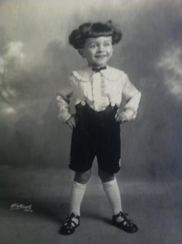 3 emezzo years old — con Jimmie Vincent Savo Jr
